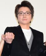 映画『僕だけがいない街』大ヒット記念舞台あいさつに登壇した藤原竜也 (C)ORICON NewS inc.