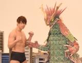 映画初主演で怪獣と対戦するイケメンレスラー・飯伏幸太選手 (C)ORICON NewS inc.