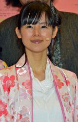 音楽劇『最高はひとつじゃない 2016SAKURA』の公開舞台稽古に出席した小西真奈美 (C)ORICON NewS inc.