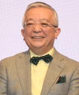 『株式会社フジゲームス』設立発表会見に出席した井崎脩五郎 (C)ORICON NewS inc.