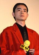 映画『暗殺教室』舞台あいさつに出席した菅田将暉 (C)ORICON NewS inc.