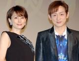 (左から)『かげろう絵図』試写会に出席した米倉涼子 、山本耕史 (C)ORICON NewS inc.