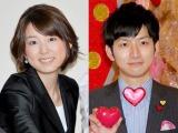 (左から)秋元優里アナと夫の生田竜聖アナ (C)ORICON NewS inc.