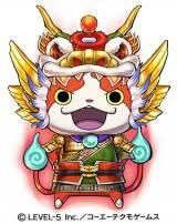 ジバニャンS劉備=3DS用ソフト『妖怪三国志』より (C)LEVEL-5 Inc./コーエーテクモゲームス