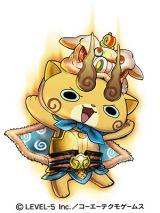 コマじろうS孫権=3DS用ソフト『妖怪三国志』より (C)LEVEL-5 Inc./コーエーテクモゲームス
