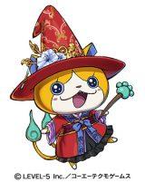 ニャン魔女卑弥呼=3DS用ソフト『妖怪三国志』より (C)LEVEL-5 Inc./コーエーテクモゲームス
