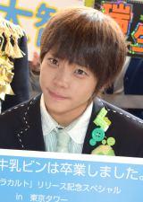 ラジオ日本『M!LKの牛乳ビンは卒業しました。』の公開収録を行ったM!LK(ミルク)山崎悠稀 (C)ORICON NewS inc.