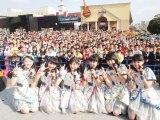 地元・福岡 ヤフオク!ドームの場外でフリーライブを開催したばってん少女隊