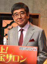 22年間出演した『開運!なんでも鑑定団』を卒業した石坂浩二 (C)ORICON NewS inc.