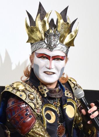 聖飢魔IIの再結成について質問されたデーモン閣下 (C)ORICON NewS inc.