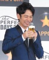 サッポロ生ビール黒ラベル『パーフェクトデイズ2016』オープニングイベントに出席した妻夫木聡 (C)ORICON NewS inc.