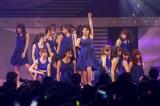 14thシングル「甘噛み姫」をお披露目(C)NMB48