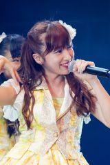 夜公演でNMB48を卒業する梅田彩佳(C)NMB48