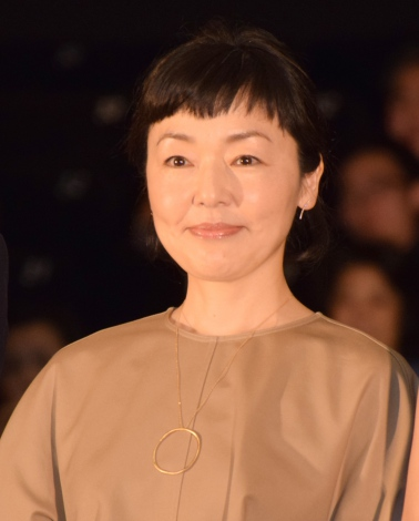 映画『あやしい彼女』初日舞台あいさつに登壇した小林聡美 (C)ORICON NewS inc.