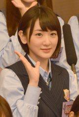 『NOGIBINGO!6』収録後囲み取材に出席した乃木坂46の生駒里奈 (C)ORICON NewS inc.