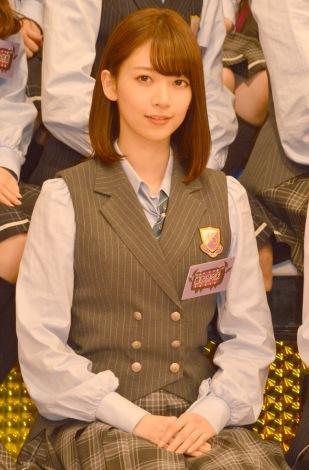 『NOGIBINGO!6』収録後囲み取材に出席した乃木坂46の橋本奈々未 (C)ORICON NewS inc.