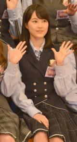 『NOGIBINGO!6』収録後囲み取材に出席した乃木坂46の生田絵梨花(C)ORICON NewS inc.