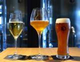 代官山にあるダイニング「SPRING VALLEY BREWERY TOKYO」4月1日スタートの新作クラフトビール。 左から『DAIKANYAMA Sparkling』『ROCKING CHAIR』『花ふぶきエール』(期間限定)(C)oricon ME inc.
