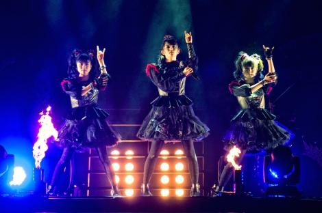 日本人初の英ウェンブリーアリーナ公演を行ったBABYMETAL (C)Amuse Inc.