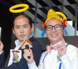 不倫報道があった安村の近況を明かしたトレンディエンジェル(左から)斉藤司、たかし (C)ORICON NewS inc.