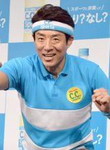 『C.C.スポーツ』の新CM発表会に出席した松岡修造氏 (C)ORICON NewS inc.