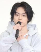 フジテレビ系月9ドラマ『ラヴソング』の制作会見に出席した菅田将暉 (C)ORICON NewS inc.