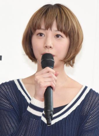 フジテレビ系月9ドラマ『ラヴソング』の制作会見に出席した夏帆 (C)ORICON NewS inc.