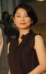 日本テレビ系連続ドラマ『世界一難しい恋』完成披露試写会に出席した小池栄子 (C)ORICON NewS inc.