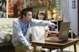 ドラマ『初恋芸人』第6回より。自分にうそをつき、賢治(柄本時生)は理沙(松井玲奈)と仲直りをしたが…(C)NHK