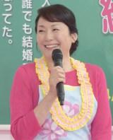 フジテレビ系ドラマ『早子先生、結婚するって本当ですか?』制作発表会見に出席した松坂慶子 (C)ORICON NewS inc.