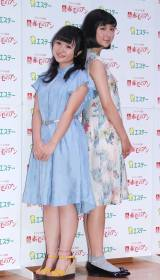 (左から)さくらまや、上白石萌歌=ミュージカル『赤毛のアン』2016就任記念イベント (C)ORICON NewS inc.