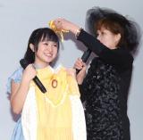 ミュージカル『赤毛のアン』2016就任記念イベントに出席したさくらまや(左) (C)ORICON NewS inc.