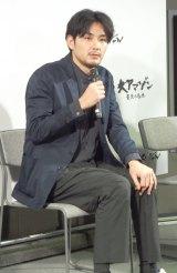 NHKで『アマゾン 最後の秘境 第1集伝説の怪魚と謎の大遡上』の試写会に出席した松田龍平 (C)ORICON NewS inc.