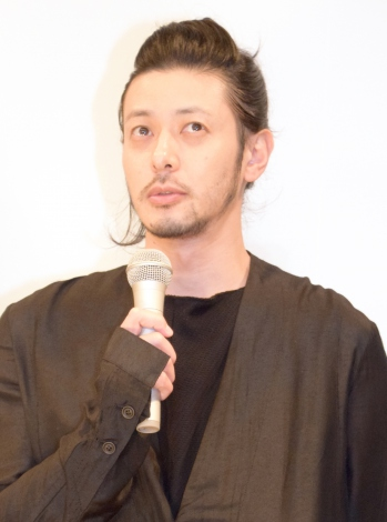 TBS系ドラマ『重版出来!』の完成披露試写会に出席したオダギリジョー (C)ORICON NewS inc.