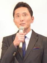 TBS系ドラマ『重版出来!』の完成披露試写会に出席した松重豊 (C)ORICON NewS inc.