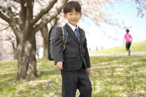 たくさんの期待を胸に小学校生活をスタートさせる