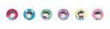 4月21日〜5月9日、東京・渋谷パルコパート1でおそ松さん×パルコ限定ミニショップ『おそ松さんの庭。』開催。会場限定グッズ。耳松&サイケ松缶バッジ12種(シークレット個包装商品。デザインを選べません)(C)赤塚不二夫/おそ松さん製作委員会