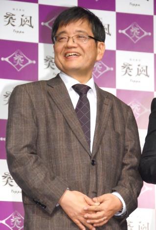 「株式会社突風」の事業戦略発表会に出席した森永卓郎氏