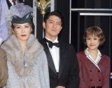 ミュージカル『グランドホテル』の取材会に出席した(左から)安寿ミラ、宮原浩暢、昆夏美 (C)ORICON NewS inc.
