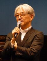 映画『レヴェナント:蘇りし者』特別試写会に出席した坂本龍一 (C)ORICON NewS inc.