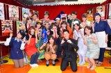 MCを務めた大久保佳代子と堀潤、16人の若きアナウンサー(=アナの種) (C)oricon ME inc.