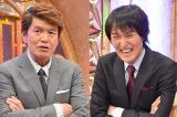 ヒロミと千原ジュニアにインタビュー。MCを務める『ずっと引っかかってました。〜ヒロミ&ジュニア 心のとげぬき屋〜』(中京テレビ)収録スタジオにて