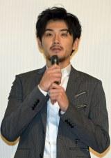 『モヒカン故郷に帰る』初日舞台あいさつに出席した松田龍平 (C)ORICON NewS inc.