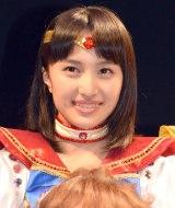 「セーラームーンは女子の憧れ」と目を輝かせた百田夏菜子 (C)ORICON NewS inc.