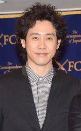 日本外国特派員協会の会見に主演映画『アイアムアヒーロー』(23日公開)で出席した大泉洋 (C)ORICON NewS inc.