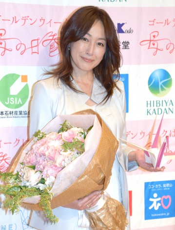 花束と高島礼子