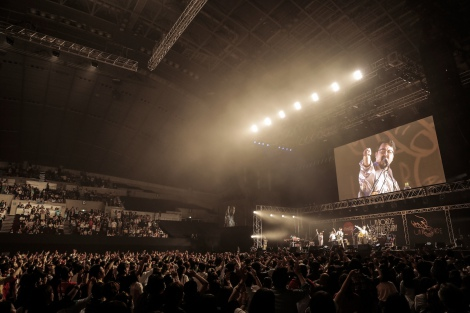 『Coca-Cola presents unBORDE 5th Anniversary Fes 2016』に出演したゲスの極み乙女。 Photo:橋本塁/鳥居洋介