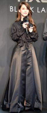 オリジナルファッションレーベル『AXE BLACK LABEL』プレスプレビュー に登場したダレノガレ明美 (C)ORICON NewS inc.