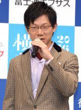 ヴァイオリニストの川畠成道=音楽フェスティバル『横浜音祭り2016』記者発表会 (C)ORICON NewS inc.