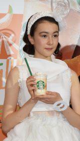 スターバックスコーヒー ジャパンの新商品説明会『Starbucks Summer Party 2016』に出席した安藤ニコ (C)ORICON NewS inc.